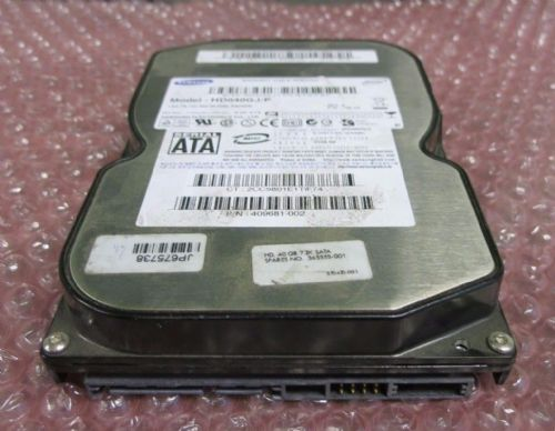 Samsung SpinPoint HD040GJ/P 40GB SATA/300 7200RPM 8MB Hard Drive Disc HDD